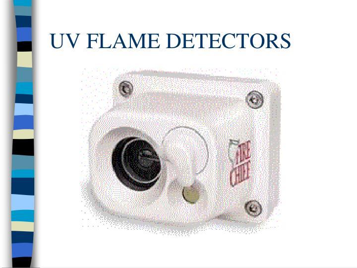 UV FLAME DETECTORS