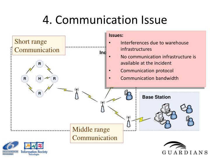 4. Communication Issue