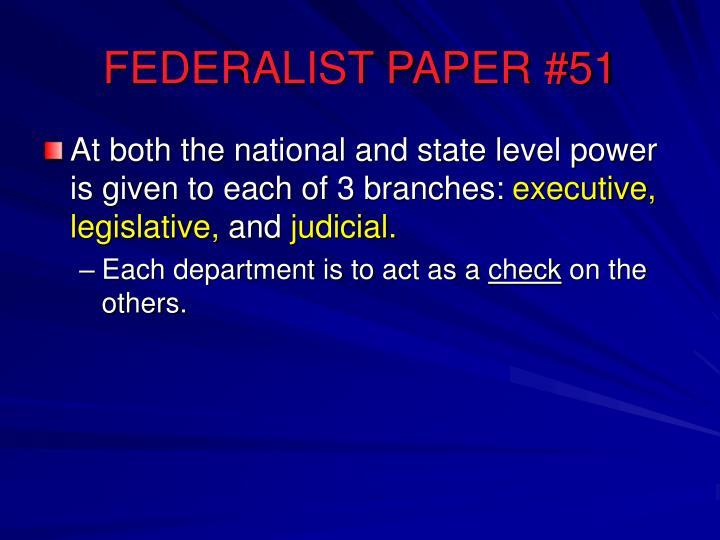 Federalist paper 78 quizlet