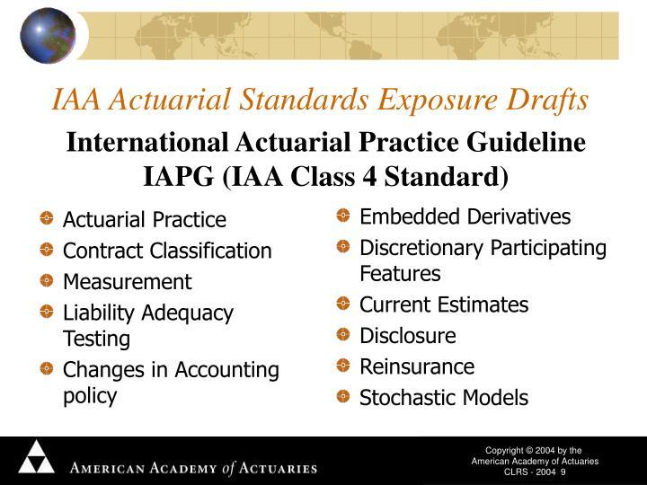 Actuarial Practice