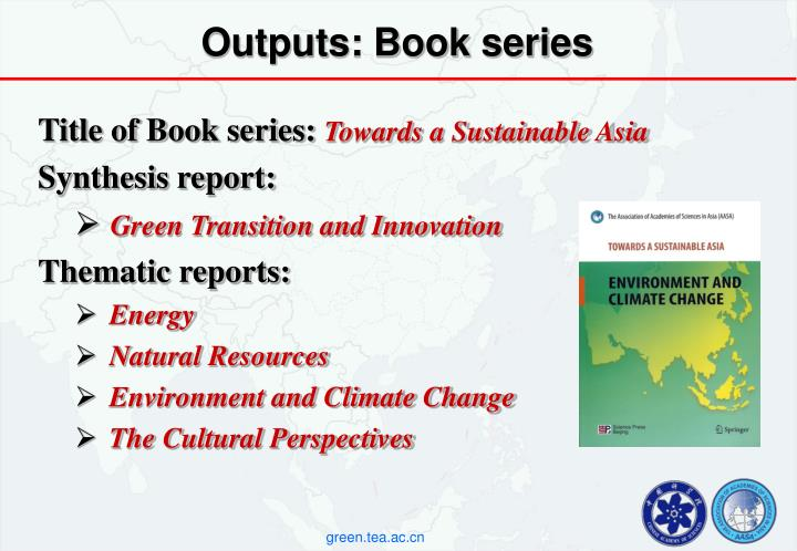 Outputs: Book series