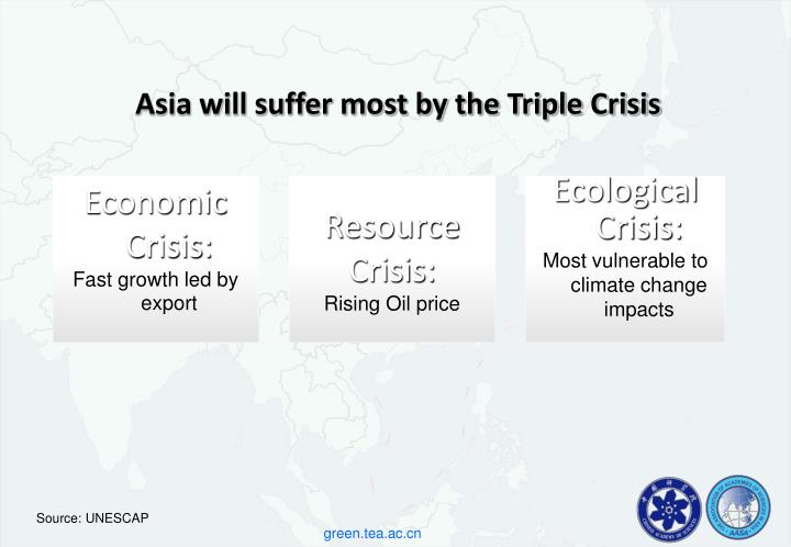 Asia will suffer most by the Triple Crisis