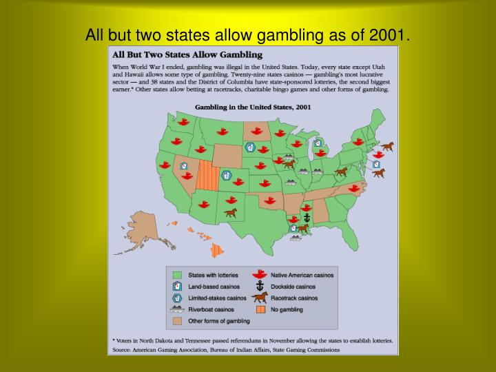 What States Allow Casinos