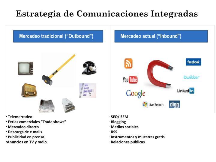 Estrategia de Comunicaciones Integradas