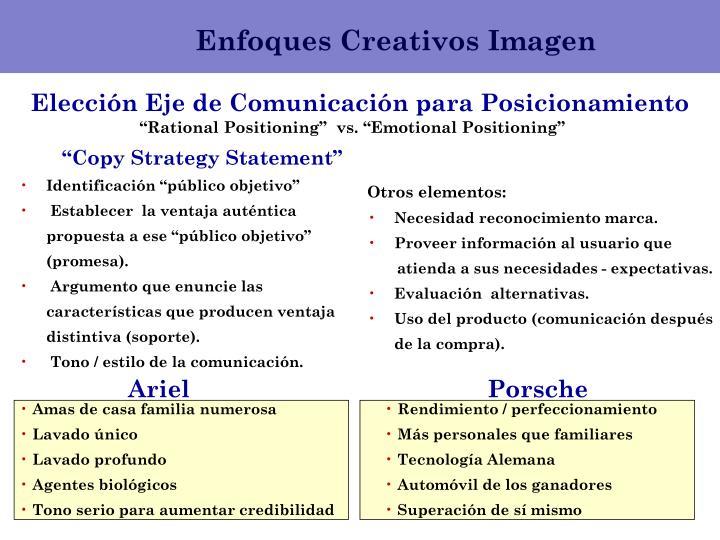 Enfoques Creativos Imagen