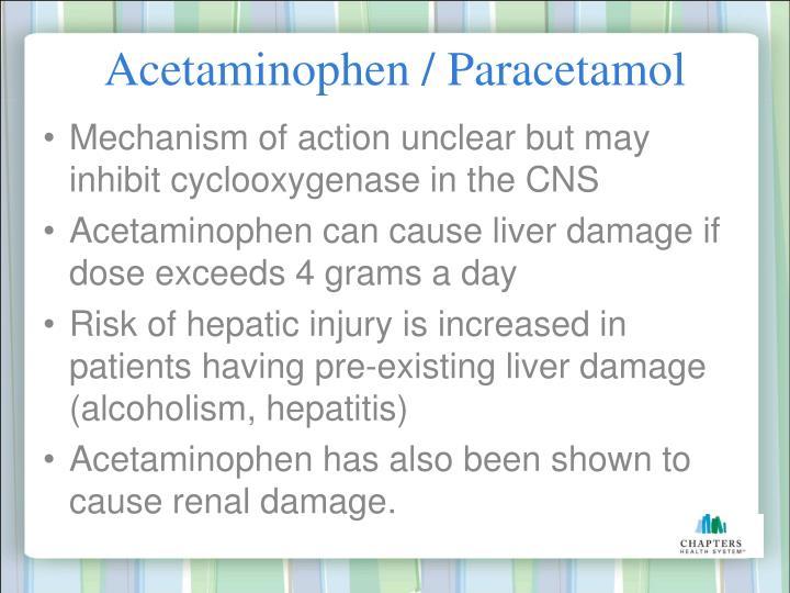 Acetaminophen / Paracetamol