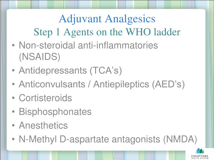 Adjuvant Analgesics