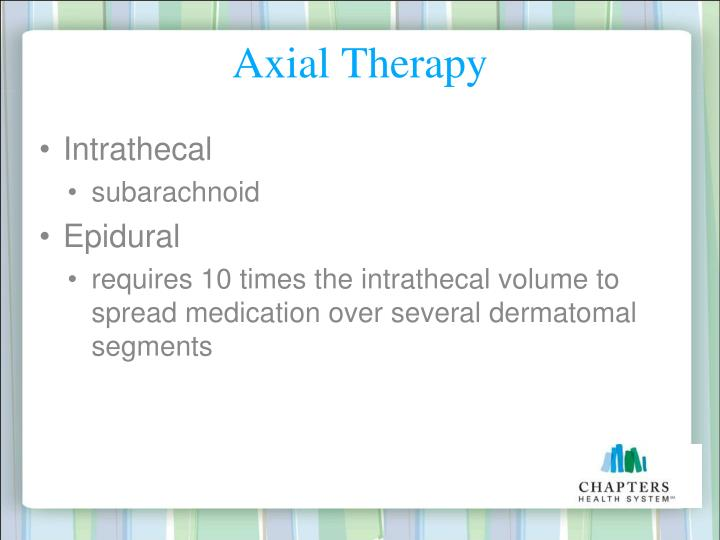 Axial Therapy