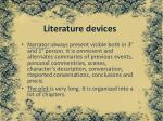 literature devices