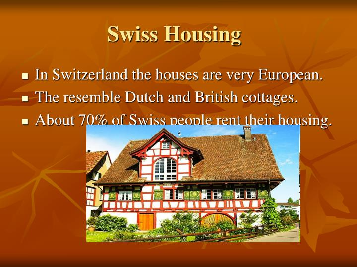 Swiss Housing