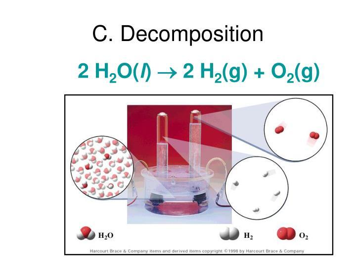 C. Decomposition