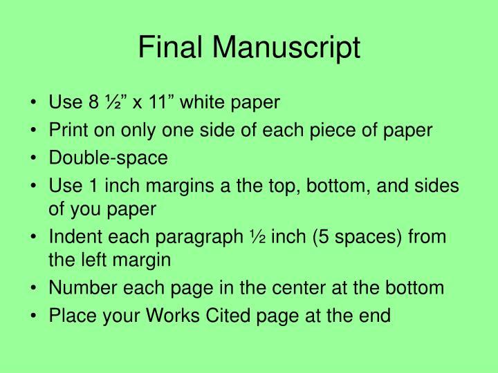 Final Manuscript