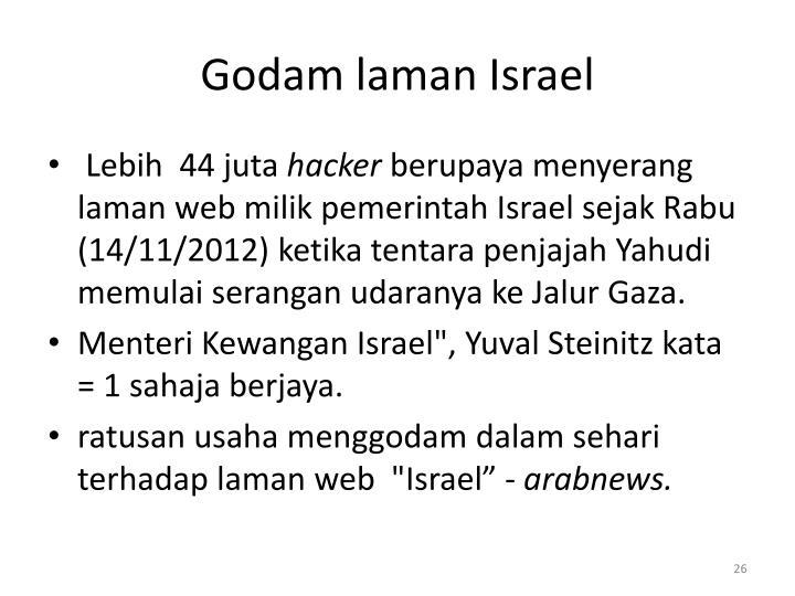 Godam laman Israel