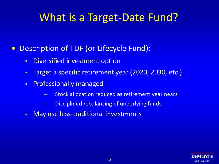 What is a Target-Date Fund?