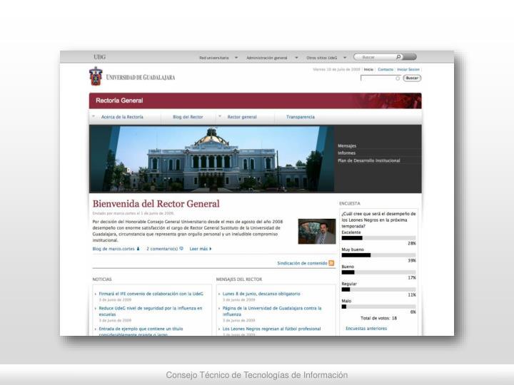 Consejo Técnico de Tecnologías de Información
