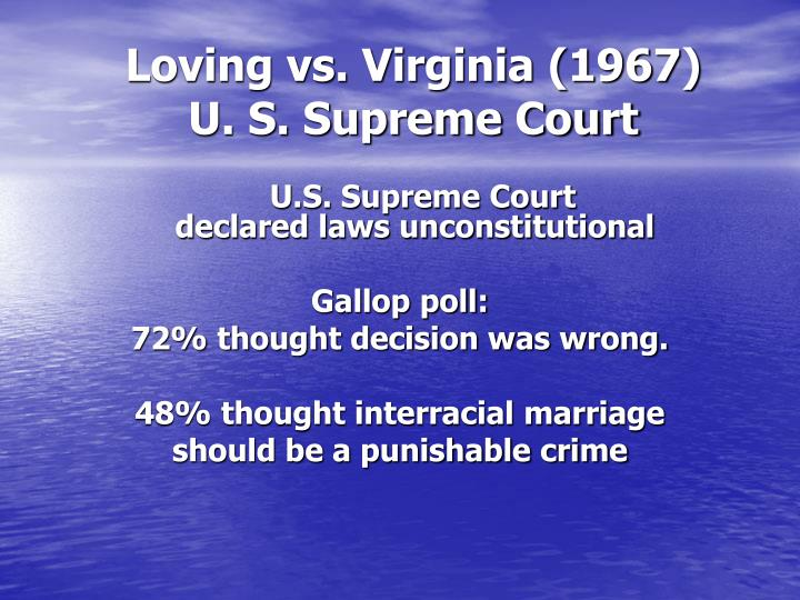 Loving vs. Virginia (1967)