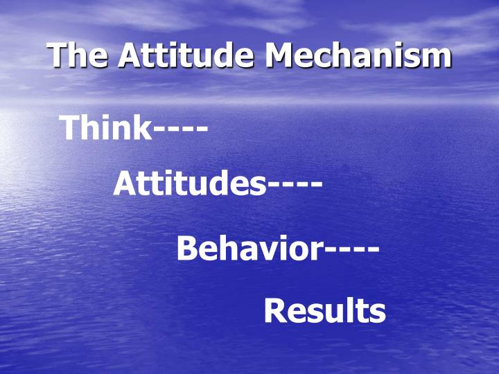 The Attitude Mechanism