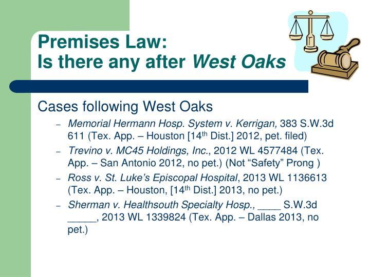 Premises Law: