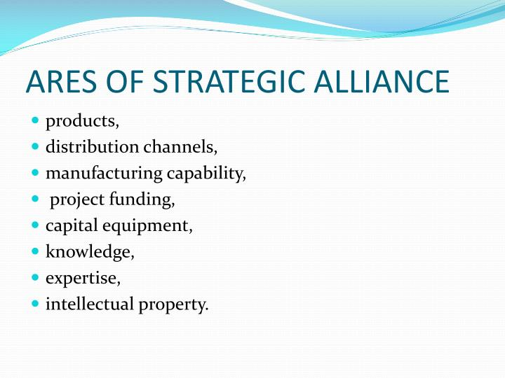 ARES OF STRATEGIC ALLIANCE