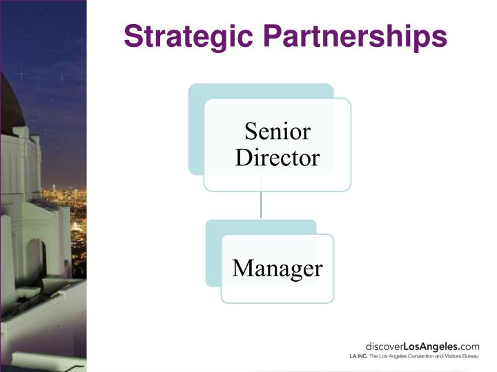 Strategic Partnerships