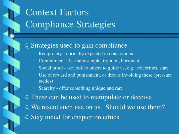 Context Factors