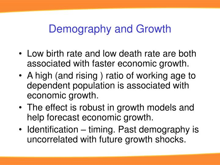 Demography and Growth