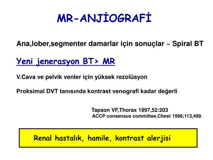 MR-ANJİOGRAFİ