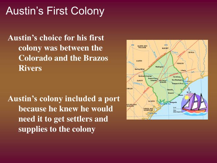 Austin's First Colony