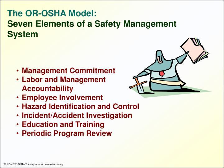 The OR-OSHA Model: