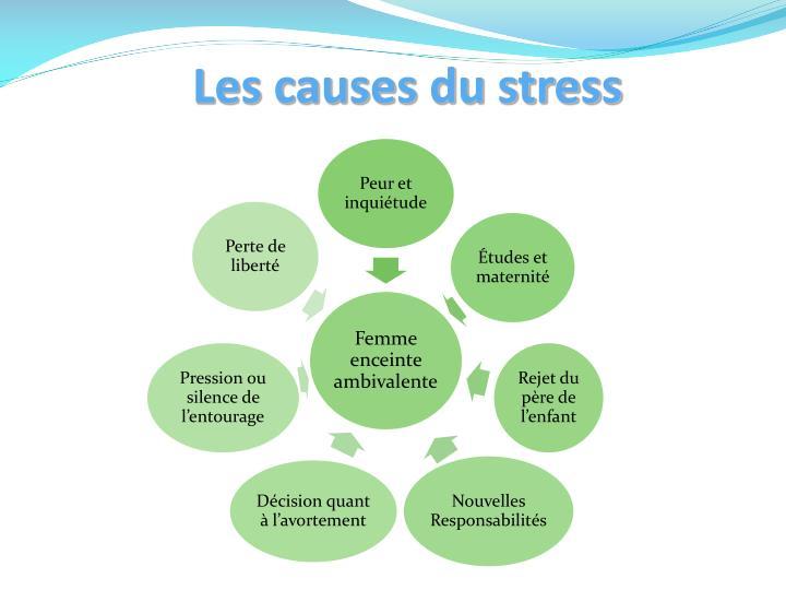 Les causes du stress