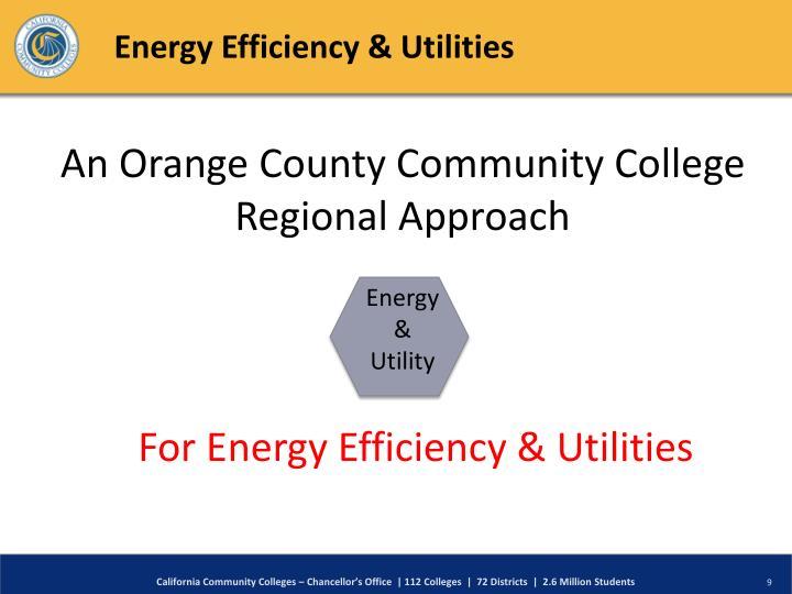 Energy Efficiency & Utilities