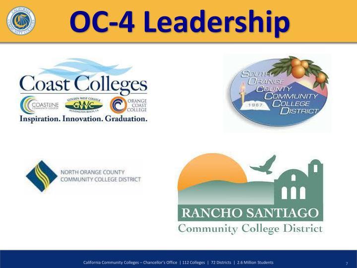 OC-4 Leadership