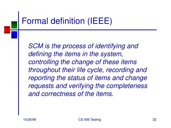 Formal definition (IEEE)