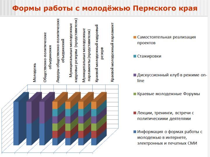 Формы работы с молодёжью Пермского края