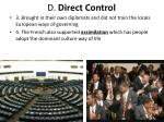 d direct control1