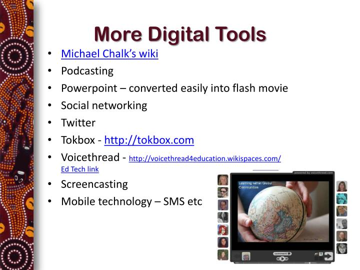 More Digital Tools