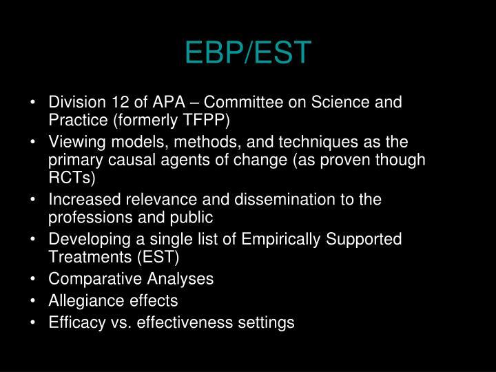 EBP/EST