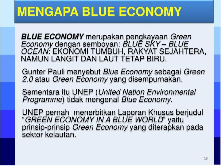 MENGAPA BLUE ECONOMY