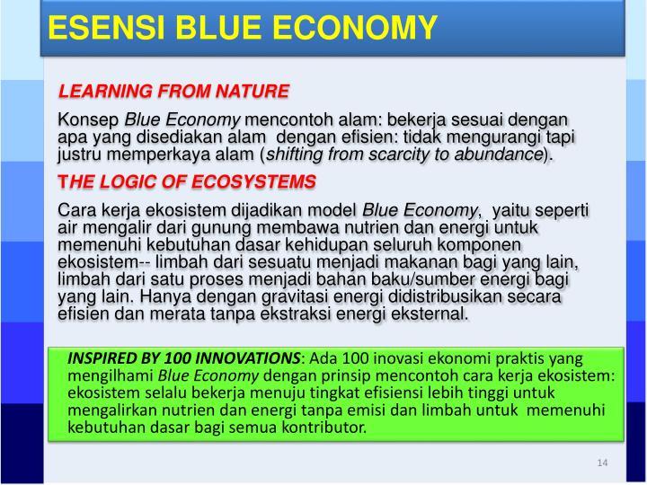 ESENSI BLUE ECONOMY