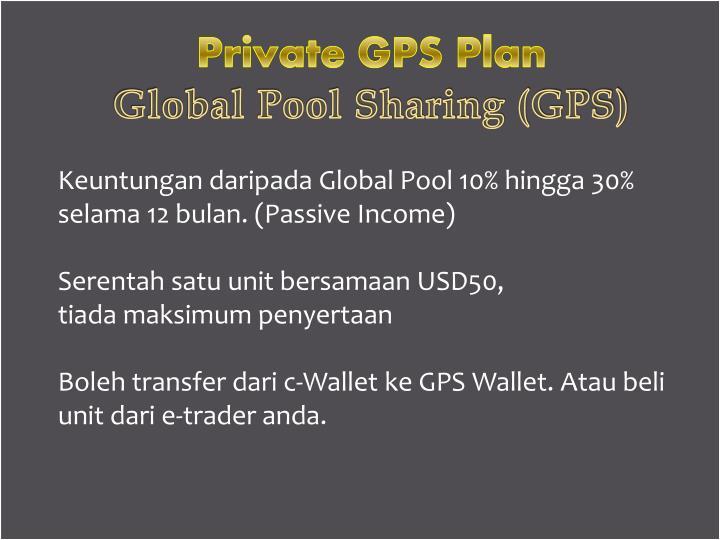 Private GPS Plan