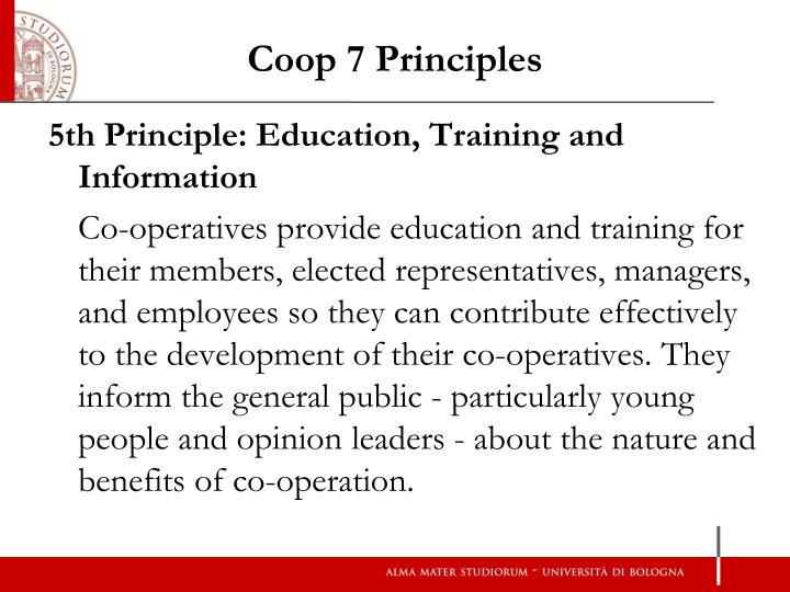 Coop 7 Principles