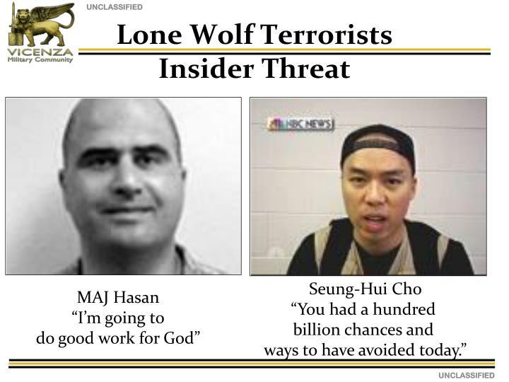 Lone Wolf Terrorists