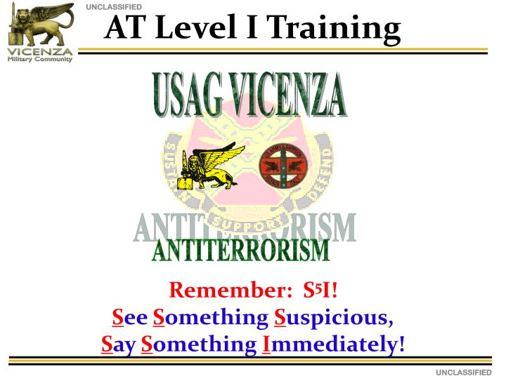 AT Level I Training