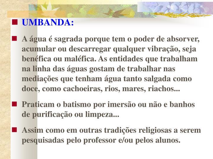 UMBANDA: