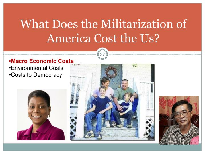 What Does the Militarization of America Cost the Us?
