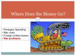 where does the money go3