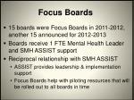 focus boards