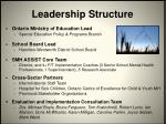 leadership structure