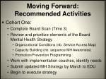 moving forward recommended activities1