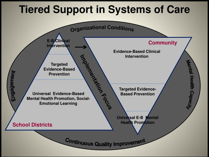 Tiered Support in Systems of Care